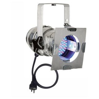 Showtec - Par 36 Short, RGB LED Poliert