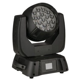 Infinity - Infinity iW-1915 Pixel Movinghead Wash Aura mit 19 x 15W RGBW 4-in-1 LEDs, Zoom 7°-50°, Pixel Control, DMX