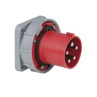 PCE - CEE 63A 400V 5p Socket Male Rot, IP67