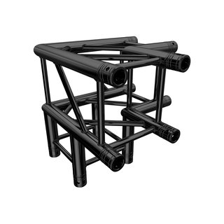 GLOBAL TRUSS - F34 3-Weg Ecke C30 90° stage black