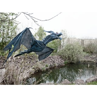 EUROPALMS Halloween Flying Dragon, 120cm