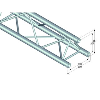 ALUTRUSS TRILOCK 6082-250 3-Punkt Traverse